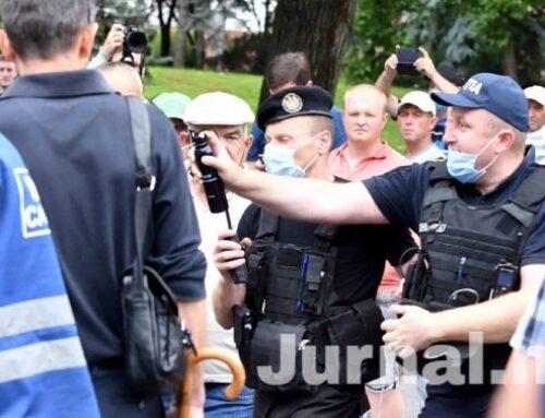 Amnesty International Moldova condamnă aplicarea forţei de către poliție